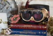 Mariage steampunk - Steampunk Wedding / Des idées et des inspirations pour un joli mariage steampunk - Ideas and inspiration to have a beautiful steampunk wedding