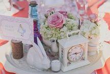 Mariage Alice au Pays des Merveilles - Alice in Wonderland Wedding / Alice in Wonderland wedding inspiration. My fav' wedding theme !