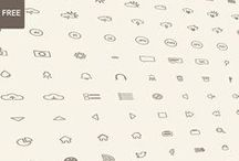 Icons | Free / Icons Design Inspiration (Free) / by Timoa