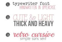 Webdesign UI | Fonts / Webdesign Fonts Inspiration
