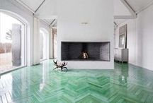 Clean and pristine interiors / There's a lot to be said about minimal decor / by Jaclyn Giuliano