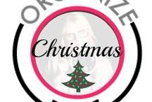 Organize Christmas Time! / Christmas is my favorite holiday! I am that dork that watches the Hallmark channel every night and listens to Christmas music starting Nov 1. I have my cards, shopping and wrapping done by Thanksgiving so I can enjoy the season with my family and friends!