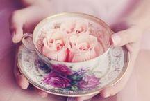 Mariage Tea Party - Tea Party Wedding / Un mariage à l'heure du thé pour une décoration aux tons pastels et fleurie - Ideas for a tea party themed wedding