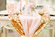 Mariage Rose et Or - Pink and Gold Wedding