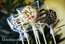 Pops / Cake pop & brownie pop recipes