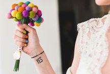Mariage coloré - colourful wedding