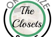 Organize Space: Closets!