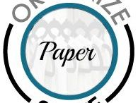 Organize Stuff: Paper!