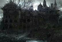 Haunted houses/mansions / by Sheri Campbell
