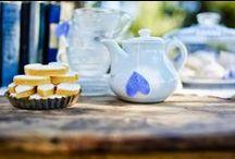 Mariage en Bleu - Blue inspiration / Des idées de décoration pour un mariage avec des touches de bleu - Wedding decoration idea with the color blue as a dominant