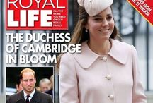Royal magazines and books