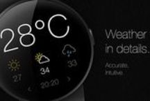 Wear Object UI | Weather / Wear Object Design Inspiration