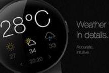 Wear Object UI | Weather / Wear Object Design Inspiration