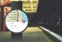 Wear Object UI | Maps / Wear Object Design Inspiration