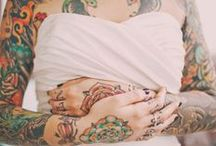 Mariée Tatouée - Tattooed Bride / Tattooed Bride is beautiful