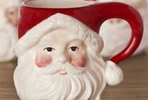 Christmas Santa / Let Father Christmas spread the magic of the season throughout your home with Balsam Hill's exquisite line of Santa figures / by Balsam Hill