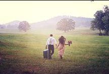 Mariage dans les bois - Into the woods / Inspiration pour un mariage rustic - Inspiration for a rustic wedding