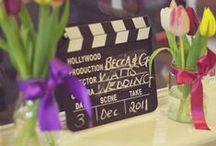 Mariage Cinéma - Cinema Wedding / Des idées pour un mariage sur le thème du cinéma - Ideas for a cinema themed wedding