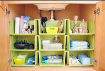 Home Organization / Tips and tricks to keep your home organized