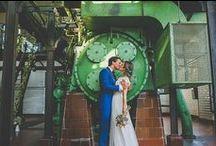 Mariage Industriel - Industrial wedding / Des idées pour un mariage city-chic
