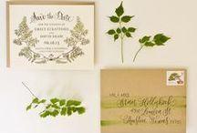 Mariage Botanique - Botanical Wedding / Des idées pour une décoration aux notes botanniques et naturelles