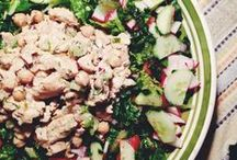 Crispy Salads / Who said salads have to be boring? Yummy and delicious ideas for healthy meals!