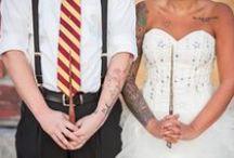 Mariage Harry Potter - Harry Potter Wedding / Inspirations pour fan d'Harry Potter - Inspirations for Potterheads !