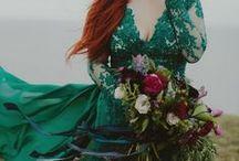 Mariage émeraude - Emerald Wedding / Idée de couleur pour un mariage toute en raffinement