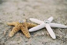 Mariage à la plage - Beach wedding / Des idées pour un mariage à la plage ou sur le thème de la mer | Ideas to have a wedding on the beach or a beach themed wedding