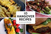 Your Hangover Cure / The best defense is to drink in moderation, but nobody is perfect. We're here to bring you delicious recipe remedies that will cure your hangover.
