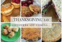 Thanksgiving Leftovers Recipes / What are you going to do with all those Thanksgiving leftovers? From turkey to stuffing to mashed potatoes to corn chowder to cranberries, we've got some ideas for you!!