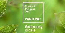 Greenery - Pantone color of the year 2017 / Mettre du vert dans la décoration de son mariage pour lui donner un côté printanier.