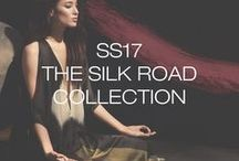 The Silk Road Collection - SS17 / A reflection of Donna Karan the Woman's travels and design philosophy, we present Silk Road, our latest journey.   Tiana Tolstoi photographed by Adam Franzino at Urban Zen Center in New York City.