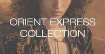 Orient Express Collection - Fall 2017 / The journey of a woman on the Orient Express. Aqua Parios photographed by Hans Neuman at Urban Zen Center in NYC