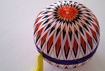 Temari / If you are looking for a particular temari division/design/colour/theme you may want to visit my website, which organises things better: www.oztemari.jbtech.com.au. I also have other temari-related boards. / by Jess W