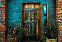 open the door...
