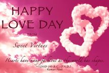 """SWEET VIRTUES-""""LOVE DAY"""" GIFT IDEAS / Feb 14th is Valentine's Day...we want to share our LOVE with some gift ideas you can get for yourself or your Valentine."""