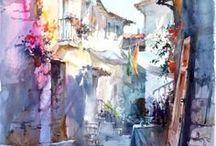 Acuarelas / Watercolors