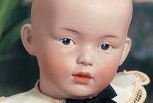 Antique boy dolls