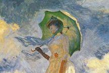Impresionismo / Impressionist art / Pintura y escultura  impresionista de diferentes autores: Degas, Monet, Manet, Renoir...
