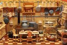 Antique German Room Boxes