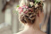 Peinados / Hair / Peinados femeninos: de boda, informales, recogidos...
