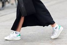 fashion // I love sneakers / outfits with sneakers