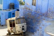 Jodhpur, Rajasthan, India / Ciudad Azul / Blue City  Un pedazo de cielo estacionado en el valle / A piece of heaven placed in the valley