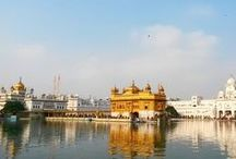 Amritsar, Punjab, India / Amritsar, Punjab, India. Golden Temple, City of the Cijs