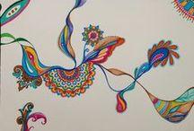 Busca Incessante / Série de desenhos  Caneta sobre papel 21,0 x 29,7 cm (cada)