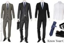 Men's Wear / Ever wonder what kind of suit to buy? Which shoes go with which socks? How to tie a tie? Is your suit is too big or too small? We've got the latest trends for the working and job-searching gentleman. / by PLU Career Connections