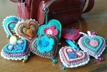 Crochet ideas and colours . / Gorgeous crochet makes and ideas.