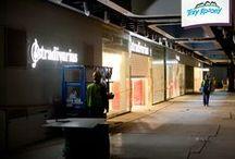 Przygotowania do otwarcia / Okres przed otwarciem to jedyny taki czas w życiu galerii handlowej, w którym obiekt zmienia się z dnia na dzień i już nigdy więcej nie będzie taki sam. :)