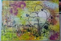 Darcy wilkinson / Images using Darcy's stamps from Paper Artsy